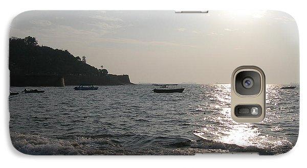 Galaxy Case featuring the photograph Fort Aguada Beach by Mini Arora