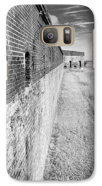 Galaxy Case featuring the photograph Fort Clinch II by Wade Brooks