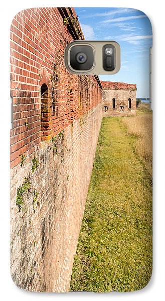 Galaxy Case featuring the photograph Fort Clinch by Wade Brooks