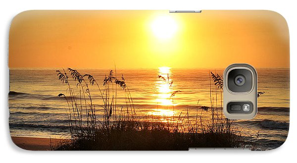Galaxy Case featuring the photograph Fort Fisher September Sunrise by Phil Mancuso