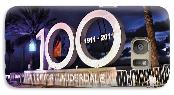 Galaxy Case featuring the photograph Fort Lauderdale At 100 Years by Timothy Lowry