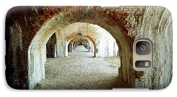 Galaxy Case featuring the photograph Fort Pickens Arches by Tom Brickhouse