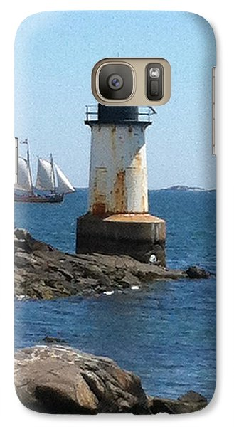 Galaxy Case featuring the photograph Fort Pickering Light by Denyse Duhaime