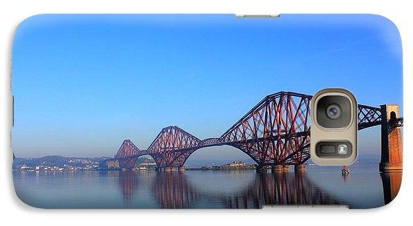Galaxy Case featuring the photograph Forth Rail Bridge by David Grant