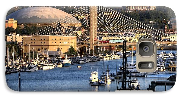 Galaxy Case featuring the photograph Foss Waterway Tacoma by Rob Green