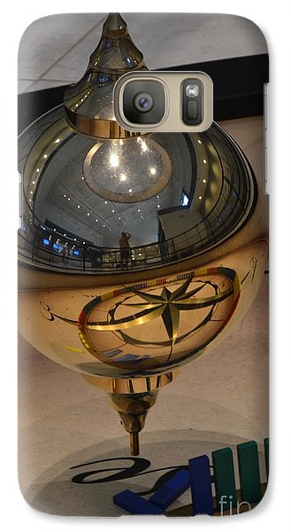 Galaxy Case featuring the photograph Foucalt's Pendulum by Robert Meanor