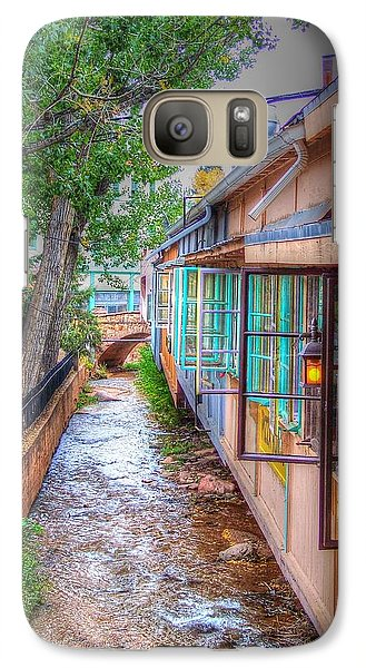 Galaxy Case featuring the photograph Fountain Creek Behind The Avenue by Lanita Williams