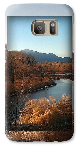 Galaxy Case featuring the photograph Fountain Creek To Pikes Peak by Michelle Frizzell-Thompson