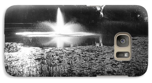 Galaxy Case featuring the photograph Fountain by Ginny Gaura