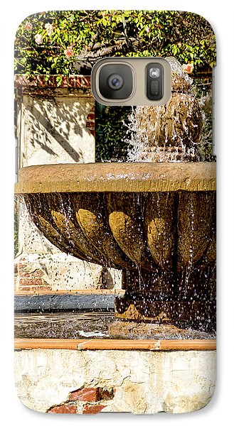 Fountain Of Beauty Galaxy S7 Case by Peggy Hughes