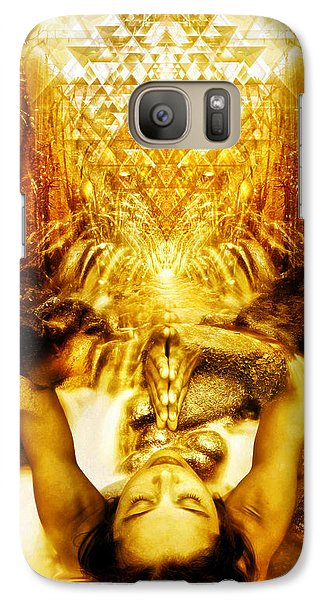 Galaxy Case featuring the photograph Fountain Of Boundless Love by Jalai Lama
