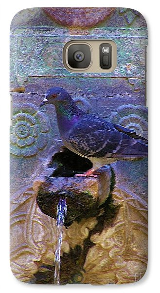 Galaxy Case featuring the photograph Rhodes Fountain by Michele Penner