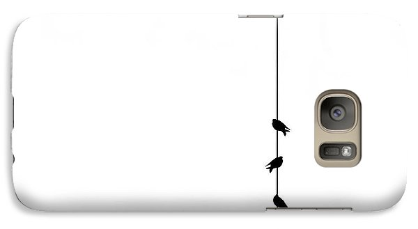 Pigeon Galaxy S7 Case - Four by Klaus Lenzen