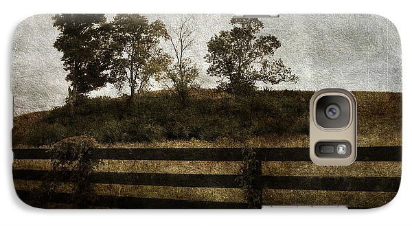 Galaxy Case featuring the photograph Four On A Hill by Cynthia Lassiter