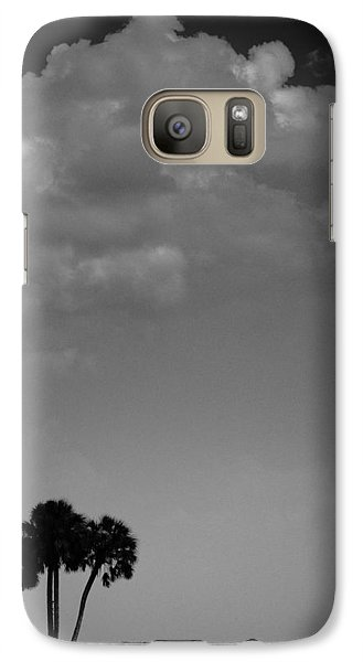 Galaxy Case featuring the photograph Four Palms by Bradley R Youngberg