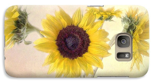 Galaxy Case featuring the photograph Hello Sunshine by Louise Kumpf