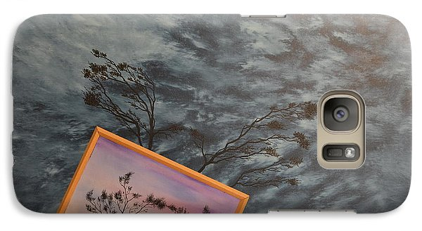 Galaxy Case featuring the painting Four Winds Of Change by Stuart Engel