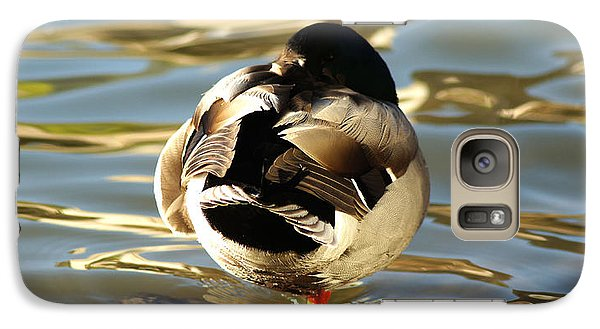 Galaxy Case featuring the photograph Fowl Ball by Jeremy Farnsworth