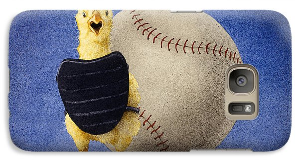 Galaxy Case featuring the painting Fowl Ball... by Will Bullas