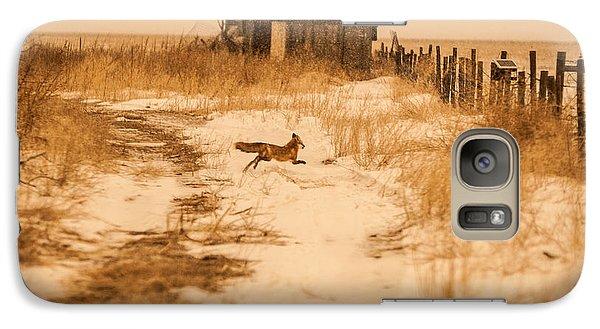 Galaxy Case featuring the photograph Fox On The Run by Shirley Heier