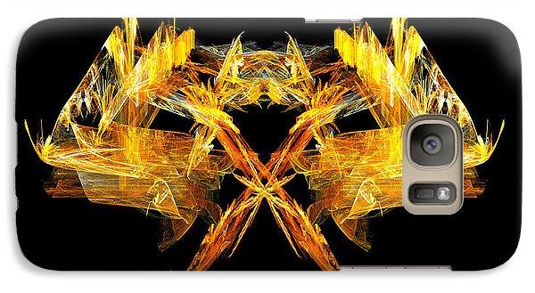 Galaxy Case featuring the digital art Foxfire by R Thomas Brass
