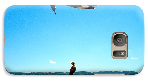 Galaxy Case featuring the photograph Foxtrot For Food by Zafer Gurel