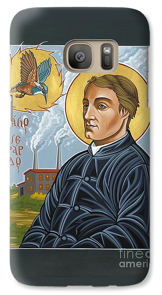Galaxy Case featuring the painting Fr. Gerard Manley Hopkins The Poet's Poet 144 by William Hart McNichols