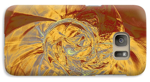 Fractal Ammonite Galaxy S7 Case