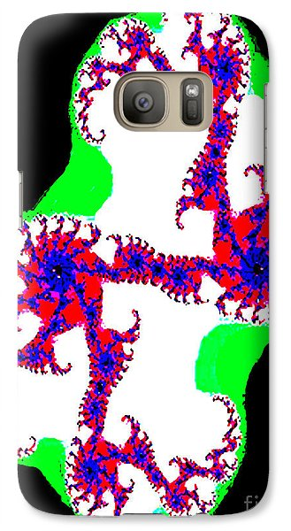 Galaxy Case featuring the photograph Fractal No. 3 by Merton Allen