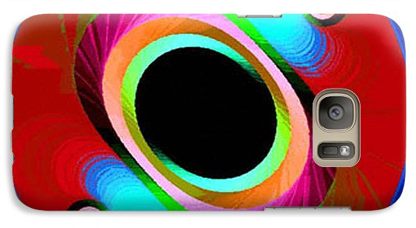 Galaxy Case featuring the photograph Fractal No. 4 by Merton Allen