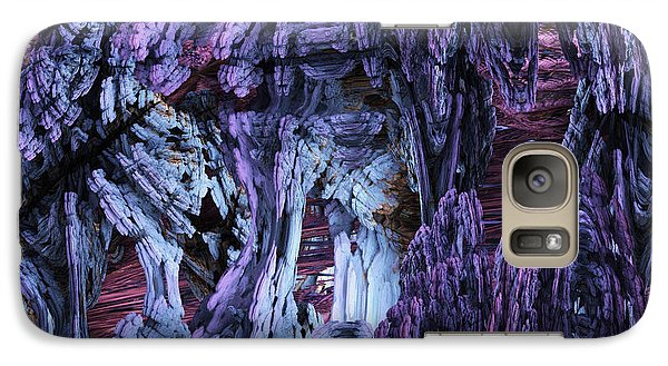 Galaxy Case featuring the digital art Fractal121413 by Matt Lindley