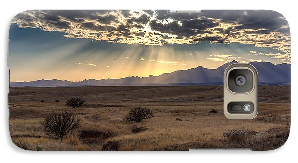 Galaxy Case featuring the photograph Fractured Sky by Beverly Parks