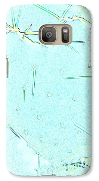 Galaxy Case featuring the photograph Fragile Heart by Roselynne Broussard