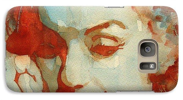 Marilyn Monroe Galaxy S7 Case - Fragile by Paul Lovering