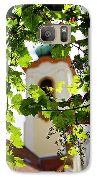 Galaxy Case featuring the photograph Framed Steeple by KG Thienemann