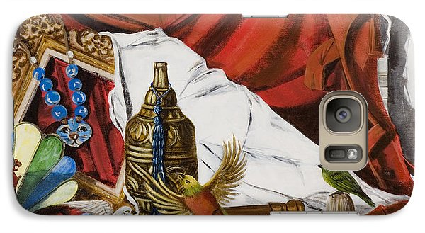 Galaxy Case featuring the painting Framed by Susan Culver