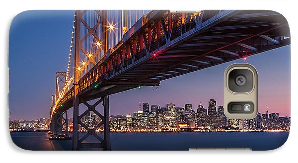 Galaxy Case featuring the photograph Framing San Francisco by Mihai Andritoiu