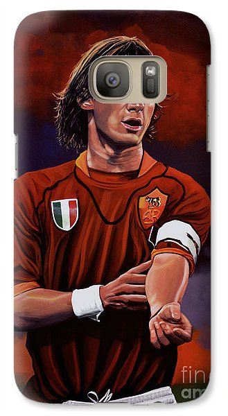 Sports Galaxy S7 Case - Francesco Totti by Paul Meijering