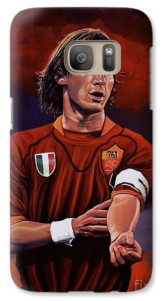 Francesco Totti Galaxy Case by Paul Meijering