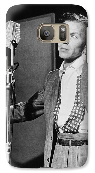 Frank Sinatra Galaxy S7 Case by Mountain Dreams
