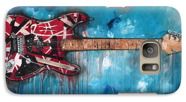 Eric Clapton Galaxy S7 Case - Frankenstrat by Sean Parnell