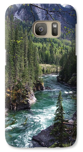 Galaxy Case featuring the photograph Fraser River - British Columbia by Phil Banks