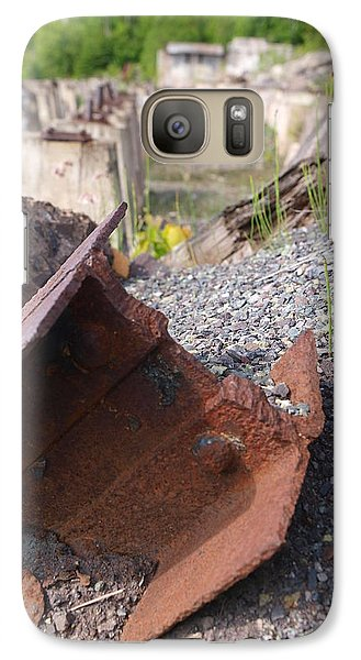 Galaxy Case featuring the photograph Freda Stamp Mill by Jenessa Rahn