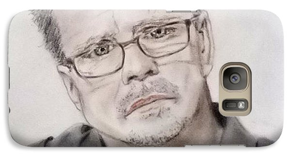 Galaxy Case featuring the drawing Freddie Roach by Jim Fitzpatrick