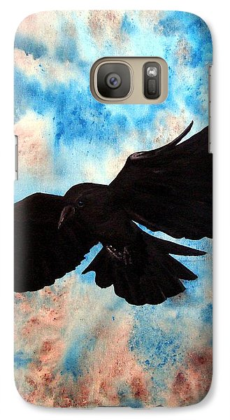 Galaxy Case featuring the painting Free Bird by Oddball Art Co by Lizzy Love