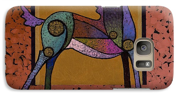 Galaxy Case featuring the painting Free by Bob Coonts