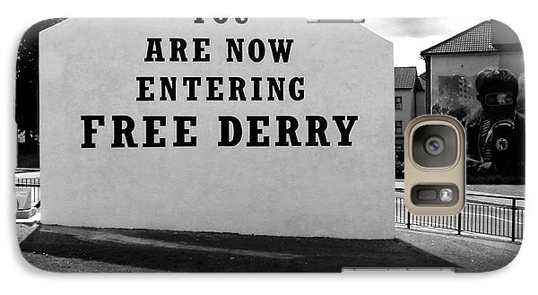Galaxy Case featuring the photograph Free Derry Corner by Nina Ficur Feenan