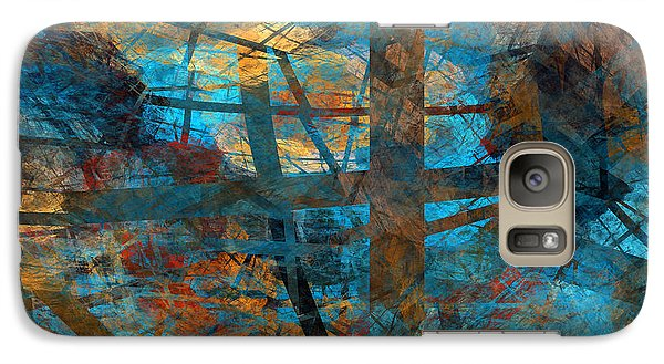 Galaxy Case featuring the digital art Free Your Mind  by Menega Sabidussi