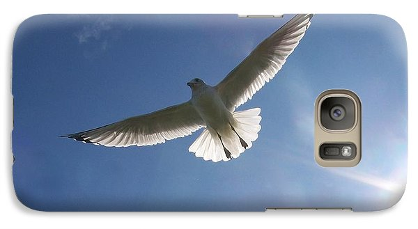 Galaxy Case featuring the photograph Freedom Flight by Jackie Mueller-Jones