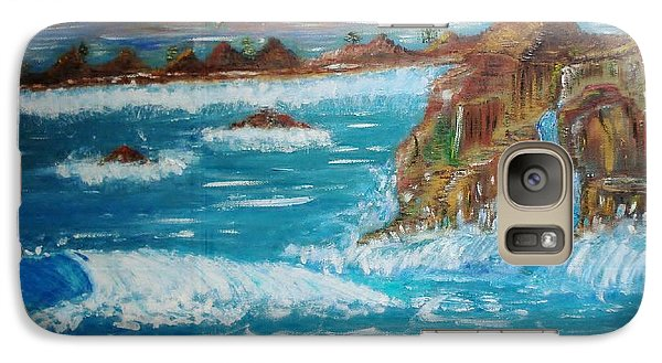 Galaxy Case featuring the painting Freedom by Lori  Lovetere